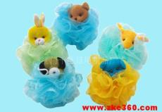 动物沐浴球 花形沐浴球 水果沐浴球
