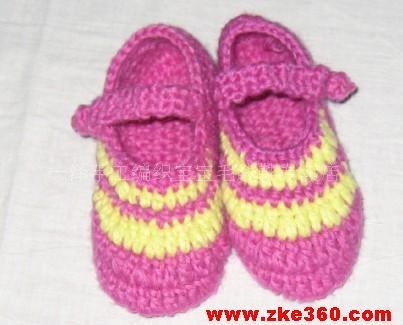 婴儿毛线鞋钩织视频 宝宝毛线鞋编织视频 婴儿毛线鞋钩织视频