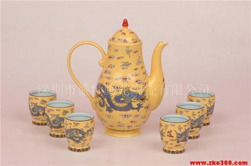 黄帝龙宫廷御用酒具即将成长为中国顶级行政礼品,顶级商务礼品,顶级