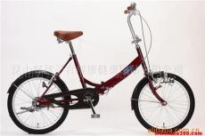 供应GEOBY捷奥比20寸6速 折叠自行车