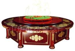 喷泉电动桌