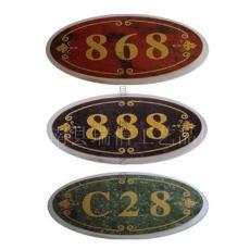 超薄双色板雕刻门牌