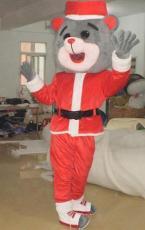 供應卡通圣誕火箭熊 卡通服裝 卡通人偶服裝