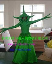 卡通人物服装 演出服装 舞台表演服装怪物史泰克和绿人