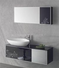 佛山橡木浴室柜 高档卫浴柜 整体浴室柜