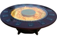 电磁炉电动餐桌