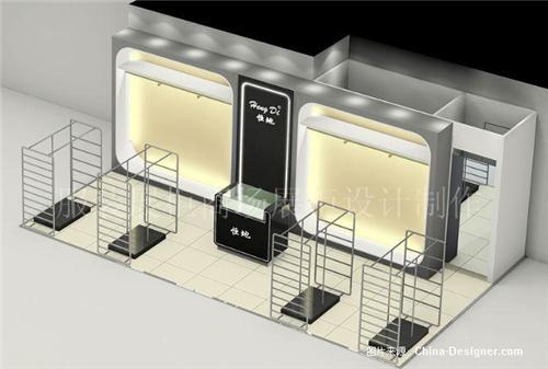 烤漆展柜设计图片