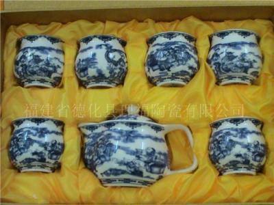 陶瓷茶具 德化名瓷茶具精品