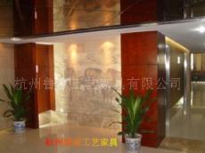 賓館工廠化裝修家具---成品木飾面01