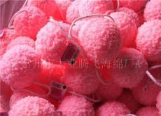 粉红色沐浴棉