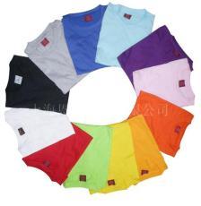现货文化衫 上海广告衫 全棉广告衫
