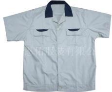 上海工作服 短袖制服 厂服