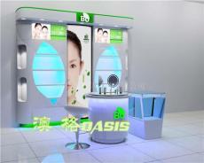 化妆品展柜展示柜 效果图 提供展柜设计展柜订做