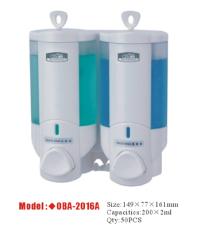 供應酒店客房專用雙頭皂液器/給皂機