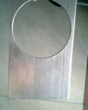 供应AM4153-601AL拉丝银色烫金纸