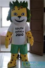 供应卡通世界杯吉祥物扎库米 卡通人偶服装
