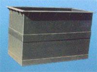 钢衬塑结晶槽 钢衬塑沉淀槽